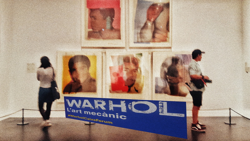 Estado y apropiación: Warhol en Caixaforum, septiembre 17